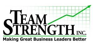 TeamStrength Logo Black & Green